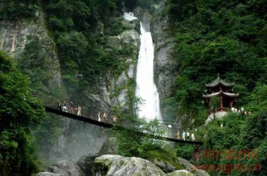 彭州龙门山风景区13、龙门山风景区龙