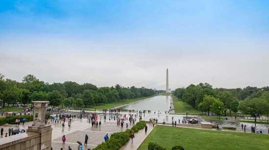 华盛顿国家广场乔治·华盛顿大桥白宫5、华